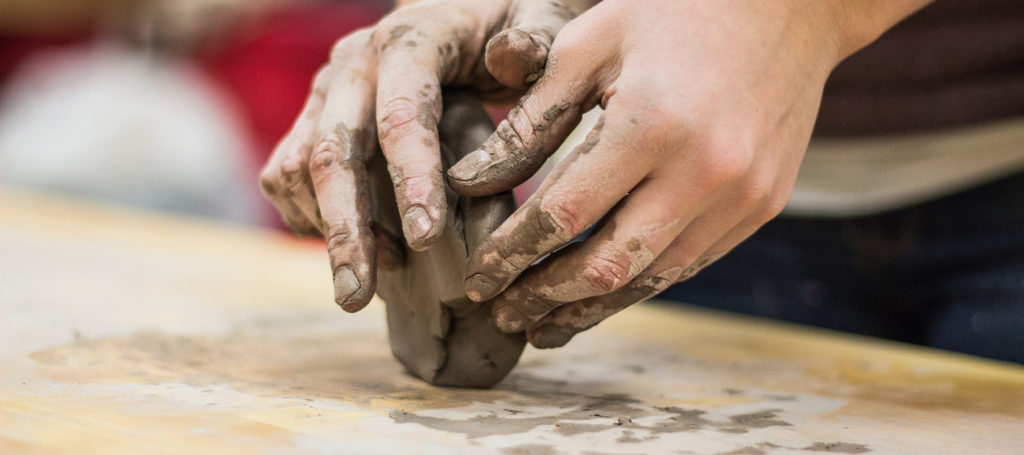 11-29 Adam and Eve - hands molding pottery