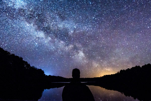 Dec 3 - Gods Promise to Abraham - view of starry sky