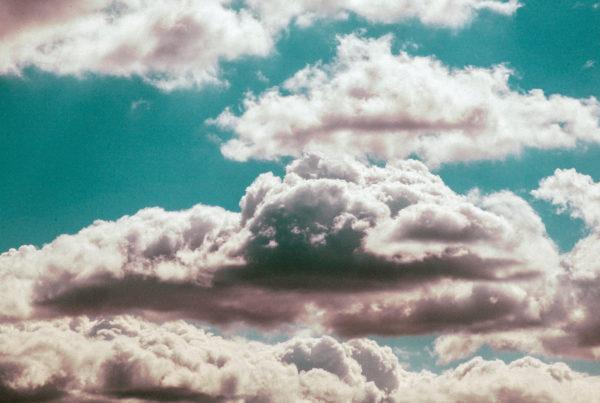 December 4: Sacrificing Isaac - image of clouds