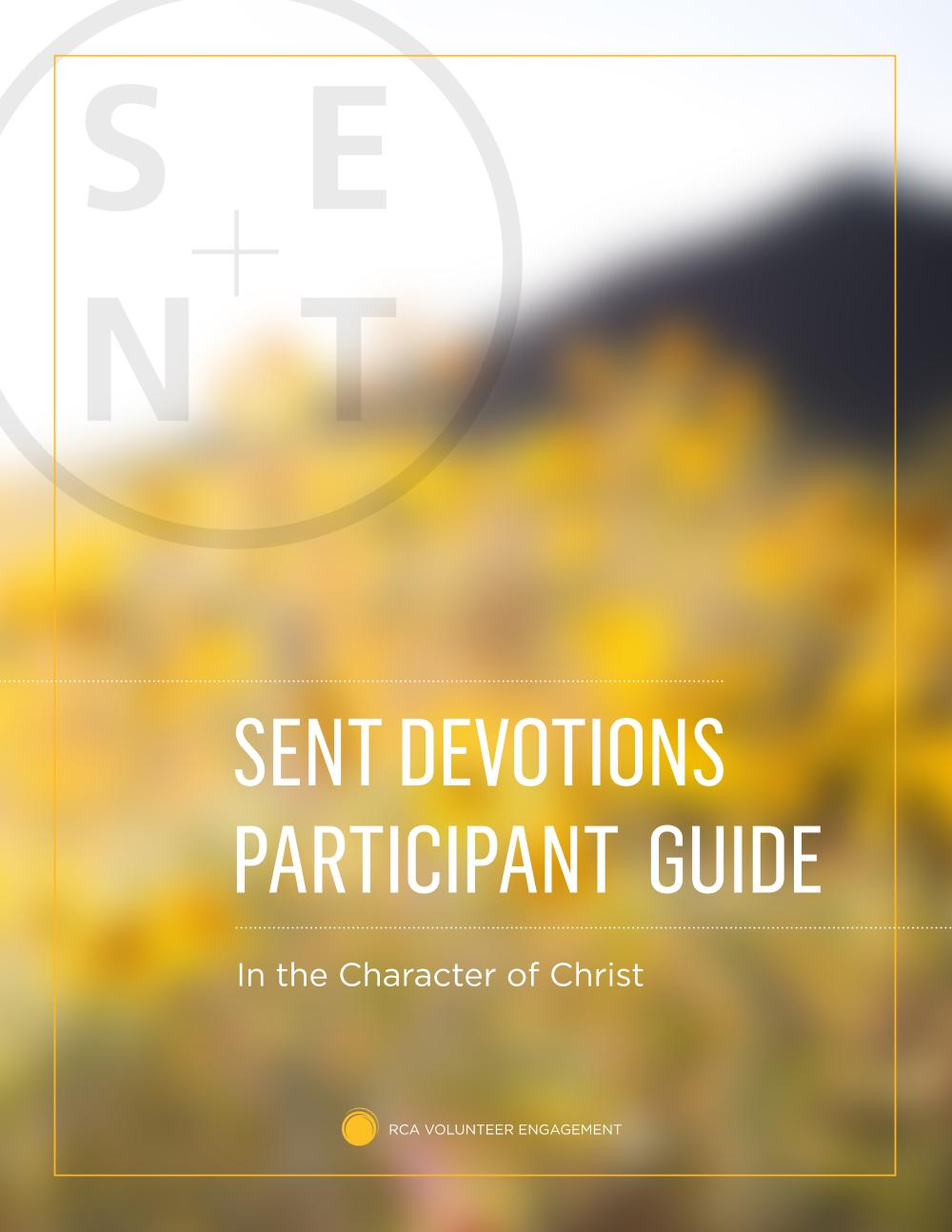 Image of SENT devotions guide