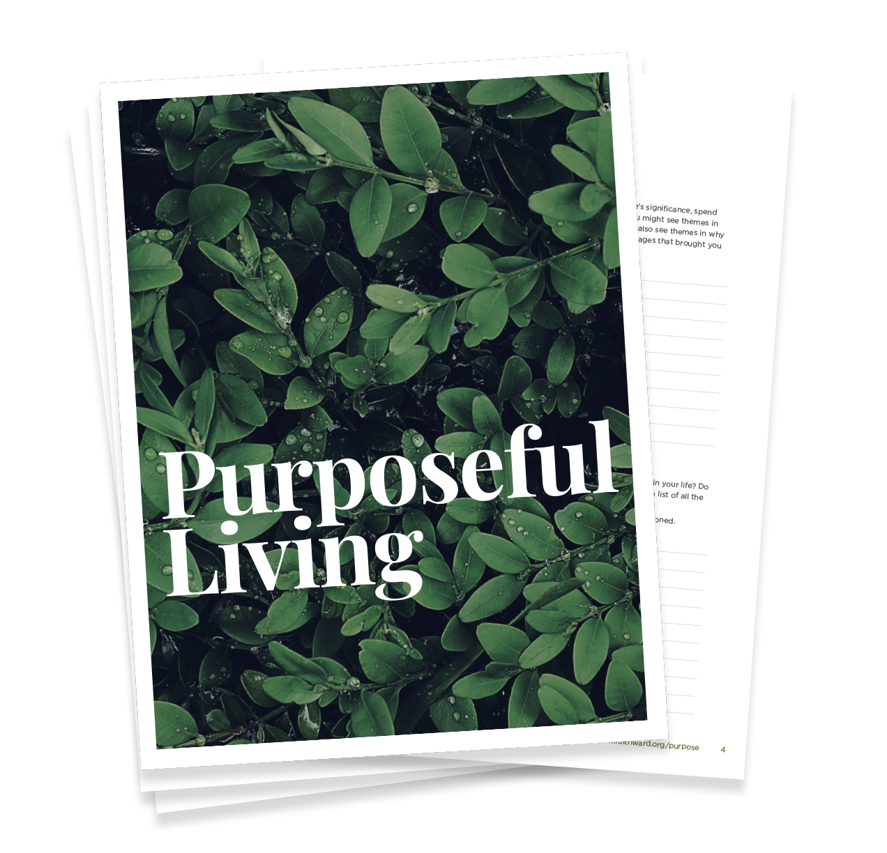 Purposeful Living Handbook