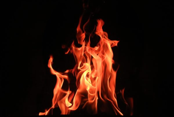 Fire is a common symbol of Pentecost
