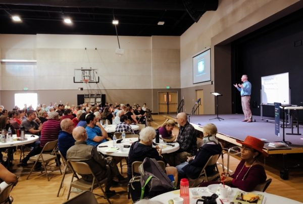 Church members receive discipleship coaching as they learn to live and love like Jesus.
