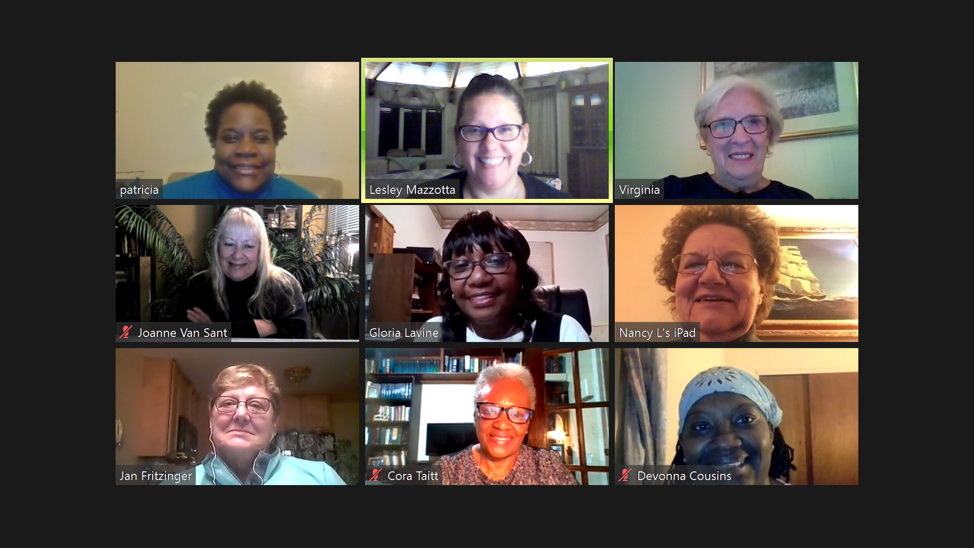 A group of women have been meeting virtually for months, finding hope and support as they journey together.