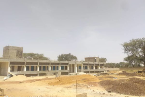 Rock of Salvation Clinic under construction